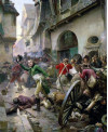 Henri de La Rochejacquelein au combat de Cholet en 1793 - Paul-Emile Boutigny