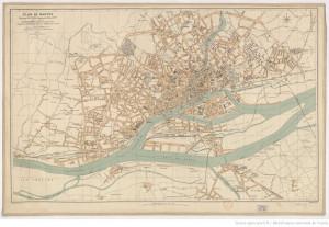 Plan de Nantes (environ 1917)